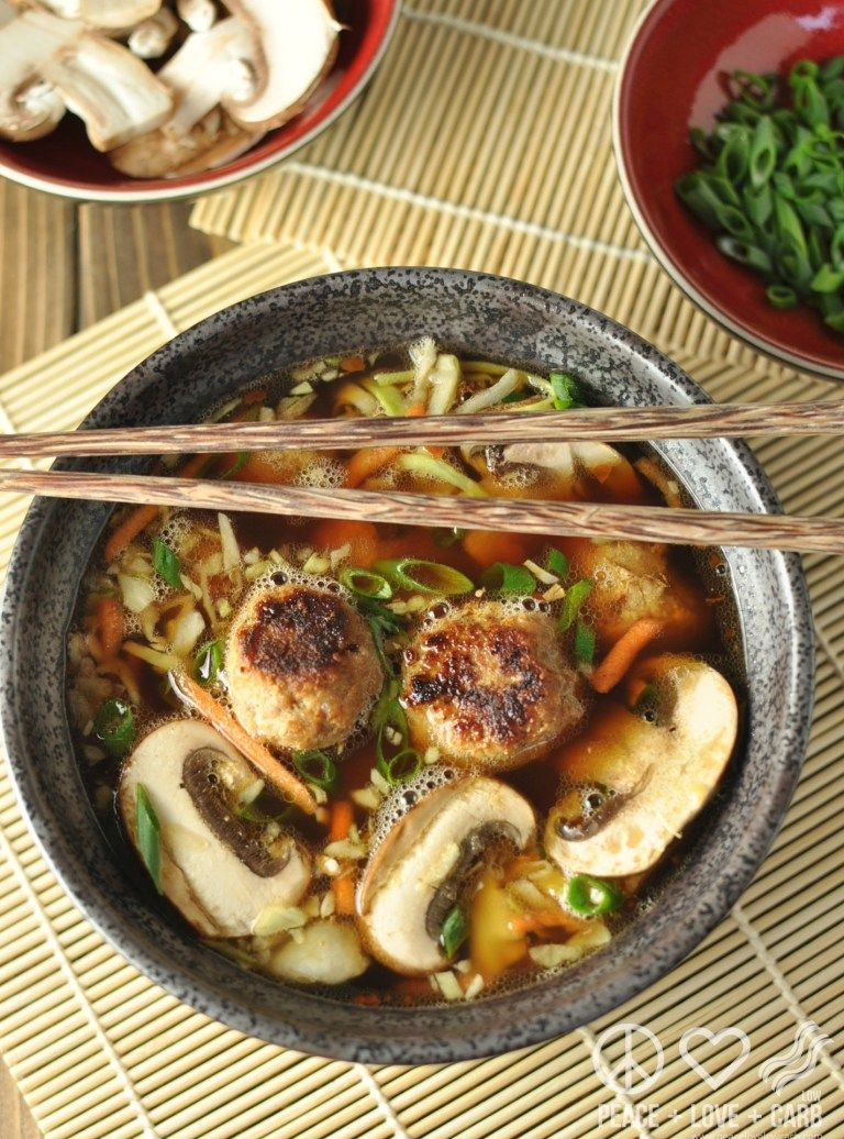 This keto wonton soup is so good that you won\'t even miss the ...