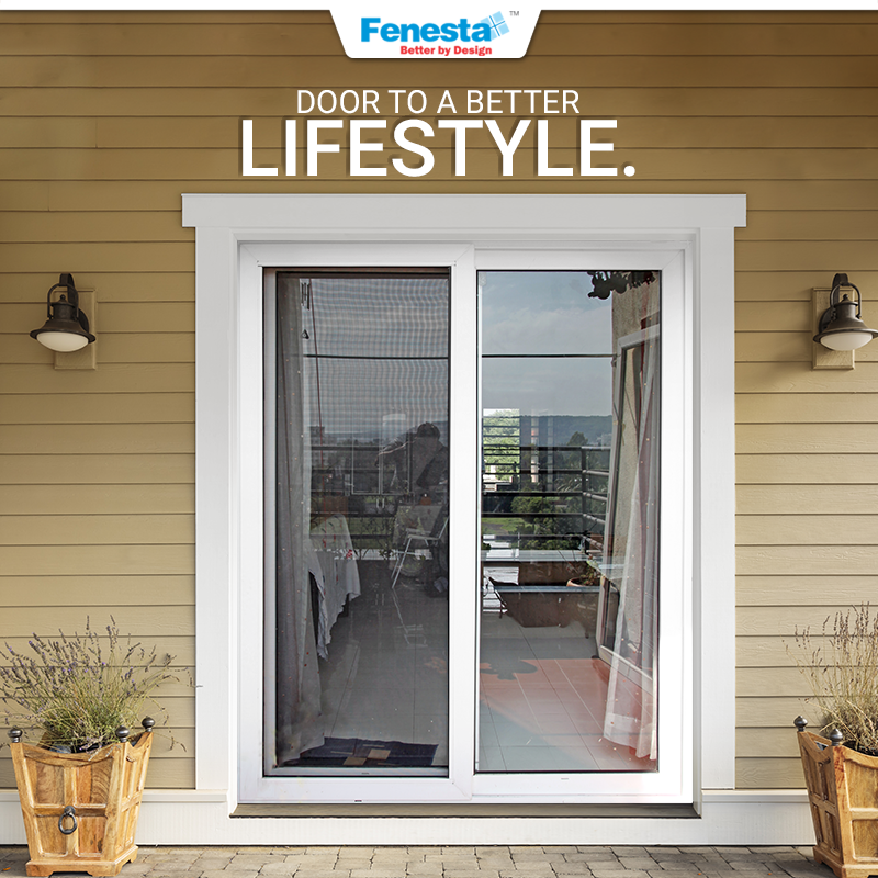 Open Doors To A Stylish Home And A Better Lifestyle With Fenesta Http Bit Ly Fenesta Doors Fenesta Doors Homedecor Interi Upvc French Doors Door Design