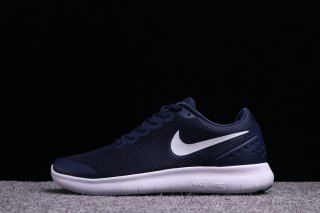 buy online 9406c d7009 Mens Nike Free Run 6. 0 Navy Blue White Running Shoes