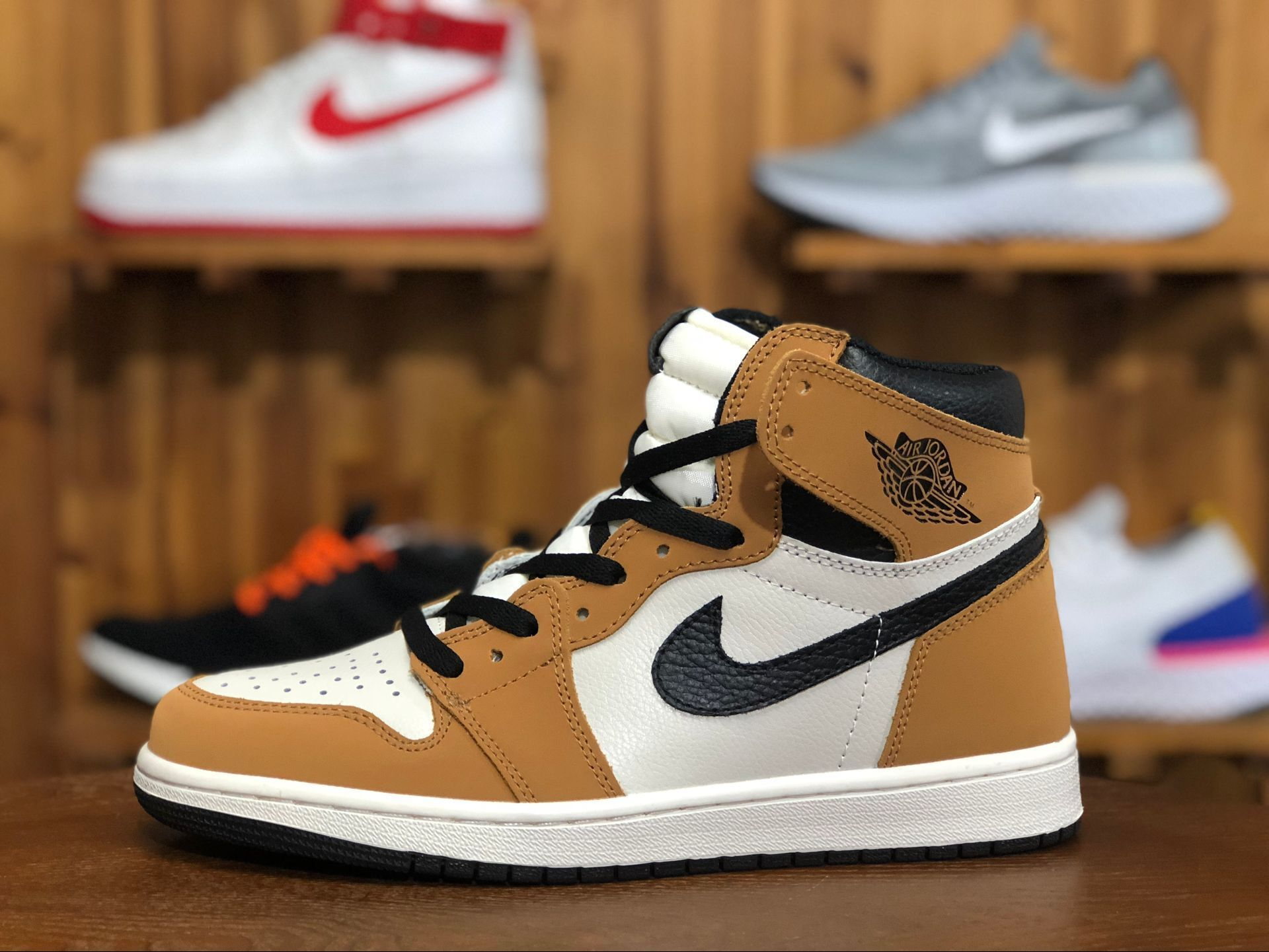 "2b8ee479ae7 Air Jordan 1 Retro High OG ""Rookie of the Year"" 555088-700 Condition: New  with Box and Unused Brand: Air Jordan Whatsapp: +8619991898923 #AJ  #AIRJORDAN ..."