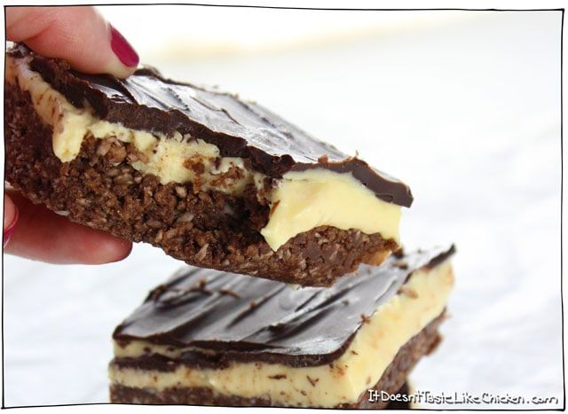 Perfect Vegan Nanaimo Bars #nanaimobars