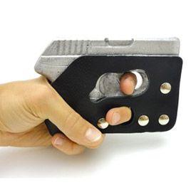The GRIP-IT pocket holster wears like a wallet…shoots like a