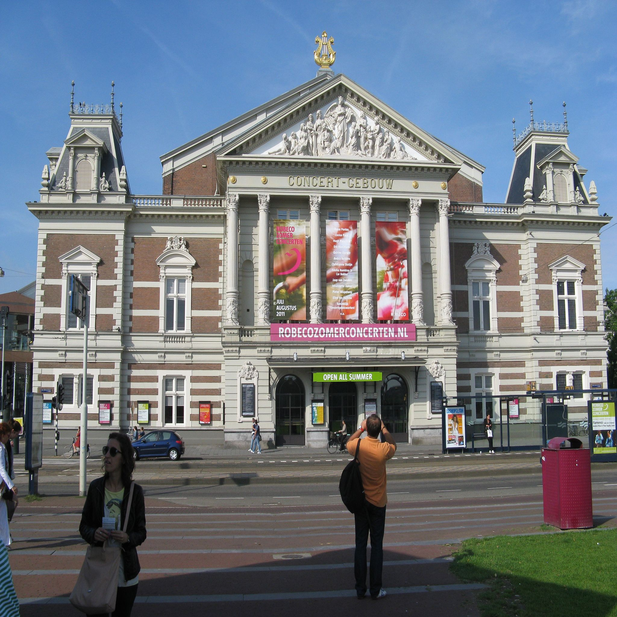 Amsterdã - Teatro Concert Gebouw