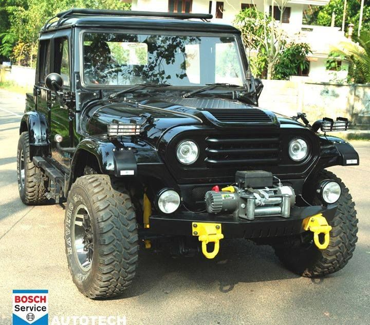 Mahindra Armada Modified Mahindra Armada Custom Jeep Car Mods