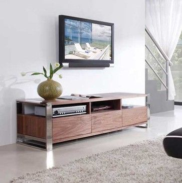 Superieur Over 60 Inches, Wood, Contemporary, Modern TV Stands U0026 Entertainment Centers  : Add A Touch Style To Your Living Room. Choose From Simple Metal Stands To  ...