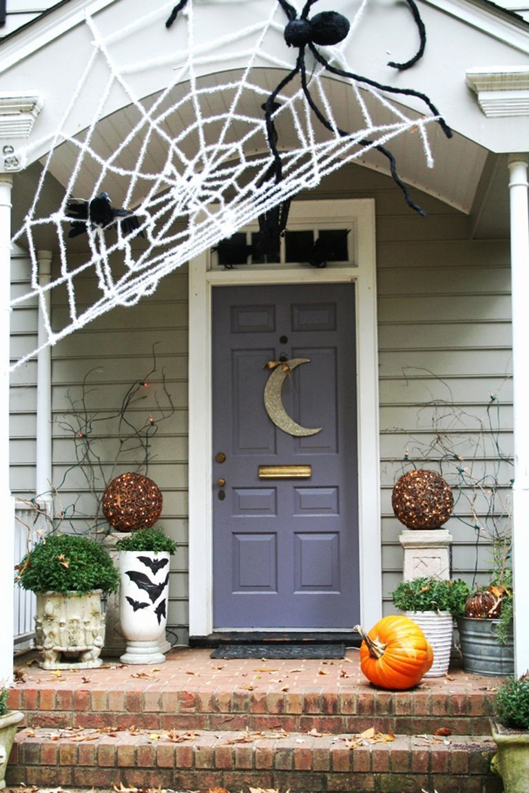 40 Best Outdoor Halloween Decoration Ideas - Easy Halloween Yard and - Pinterest Outdoor Halloween Decorations
