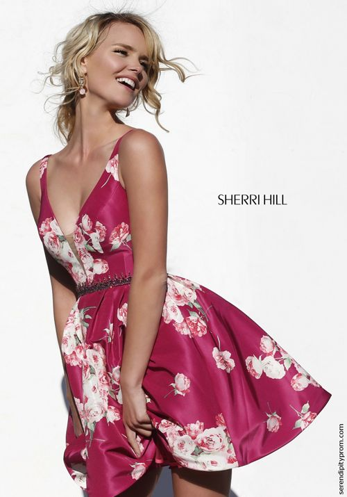 Sherri Hill 32321 · Sherri Hill DressHomecoming DressesPlumCocktail ...