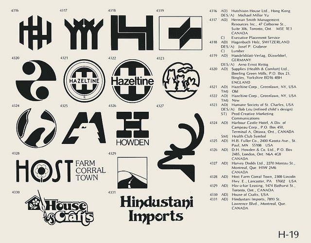 H 19 Identity Design Logo Vintage Logo Design Corporate Logo Design
