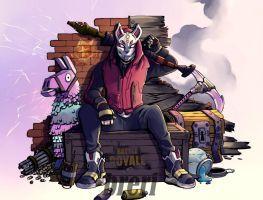 Fortnite Drift by Breri Art, Youtube art, Game art