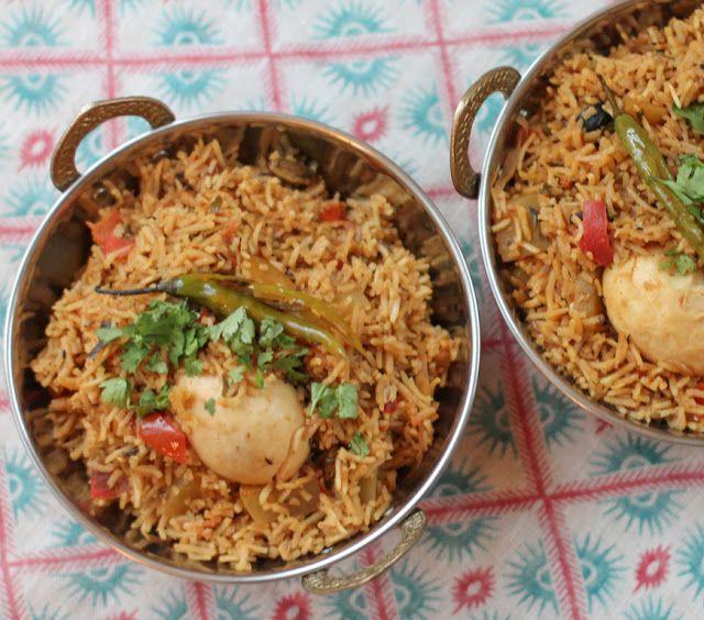 Food Lust People Love: Egg Biryani #SundaySupper