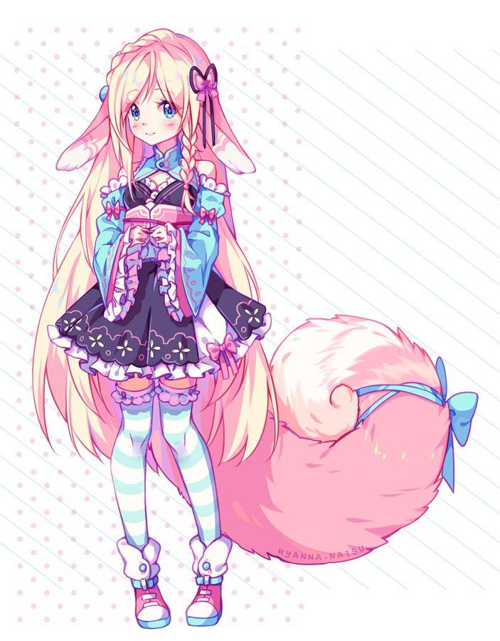 Commission frilly 39 n fluffy by hyanna natsu on deviantart - Anime gamer boy ...