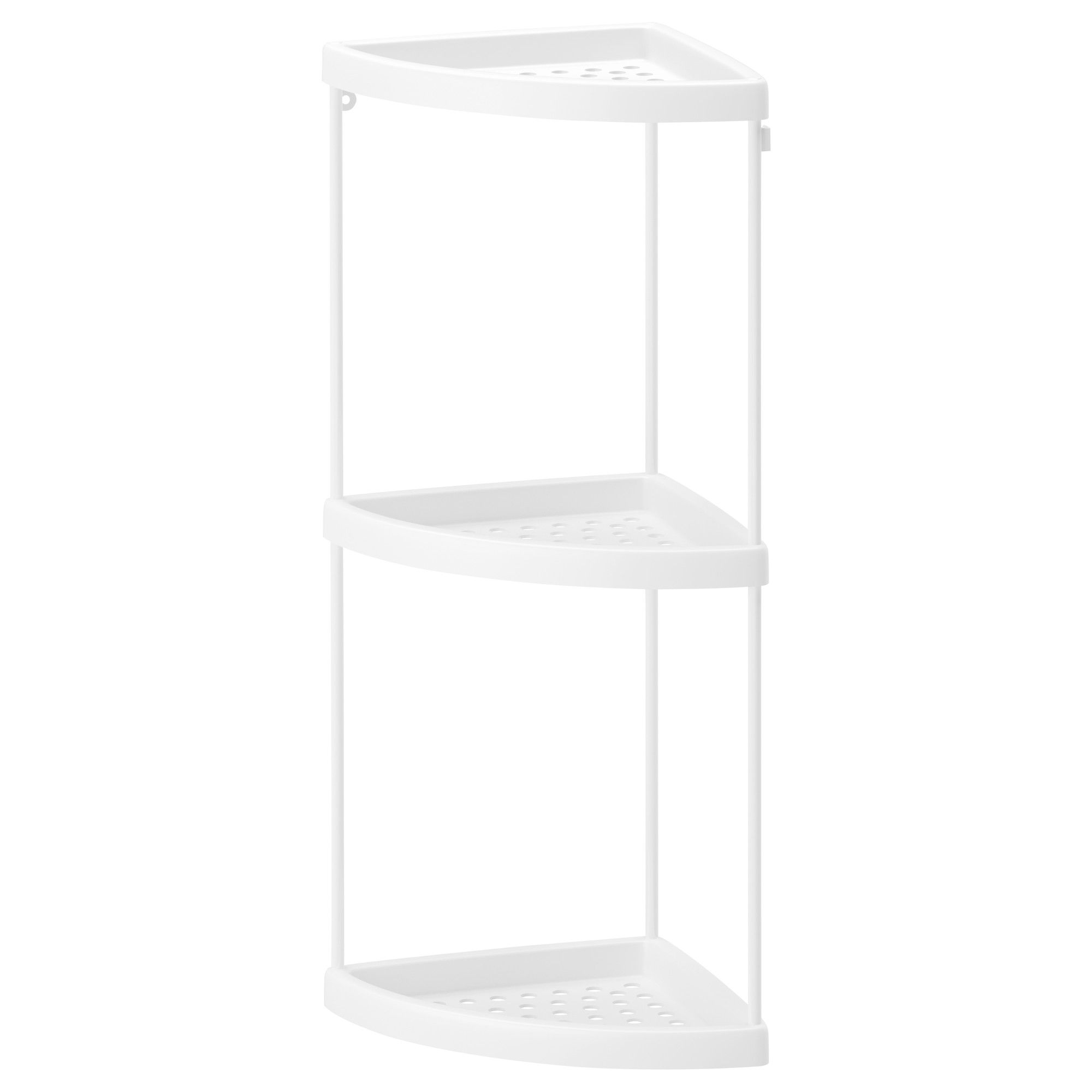 BOLMEN Corner shelf - IKEA this can help separate our shampoos in ...