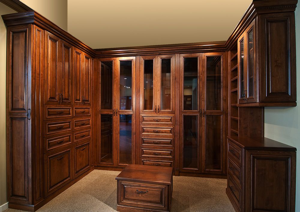 Wood Master Walk In Closet By Classy Closets. Love What You See? Schedule