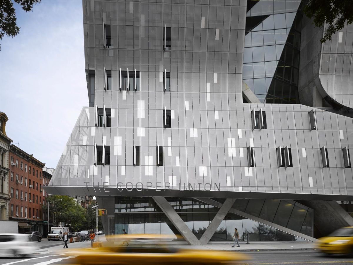 the building for the cooper union is a center for advanced and