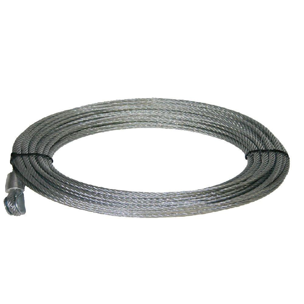 Keeper Wire Rope 55 Ft X 7 32 In For Kt4000 Winch Kta14120 1 Synthetic Rope Synthetic Winch Rope Winch Rope