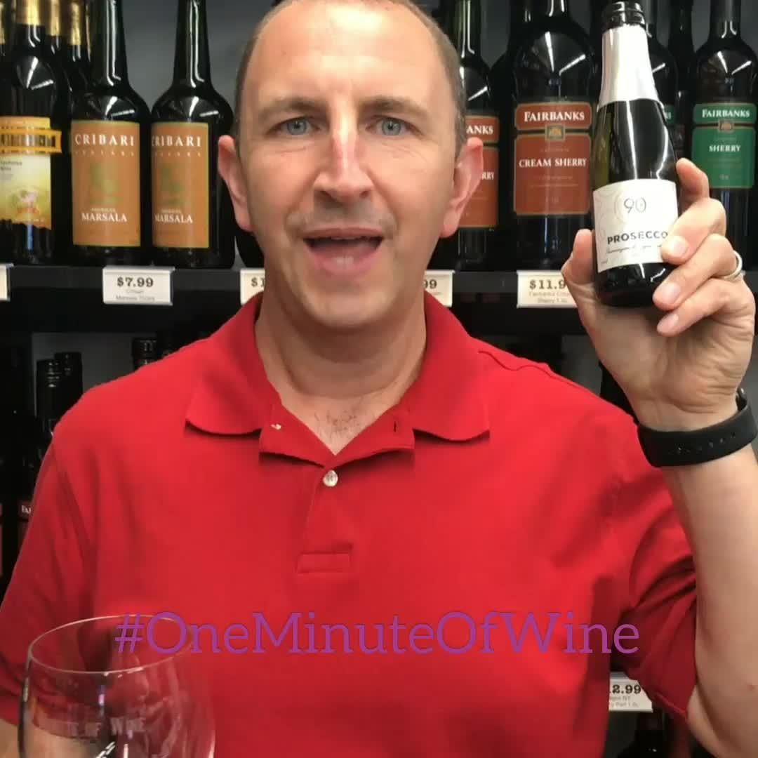 Welcome To Onemintuteofwine Whose Ready To Pop Open The Bubbly This Labor Day Weekend 90 Cellars Prosecco Is Perfect To Bri Video In 2020 Prosecco Ready To Pop Mens Tops