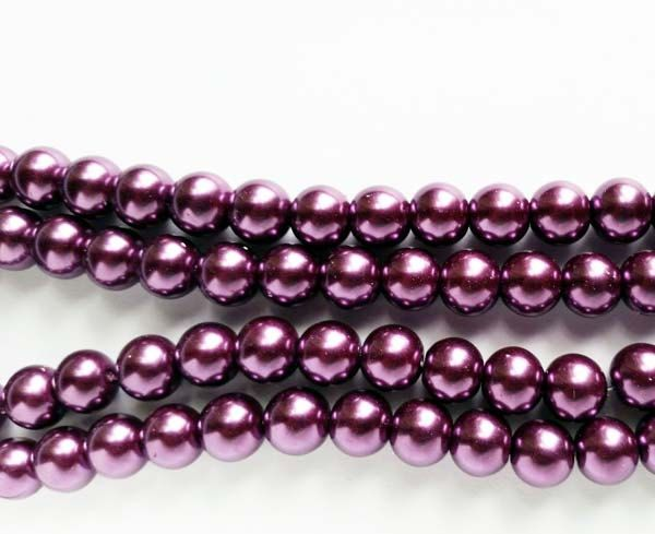 20 Imitation Pearl Round Glass Beads 12mm Jewelry Supplies by LoveTimes3 on Etsy