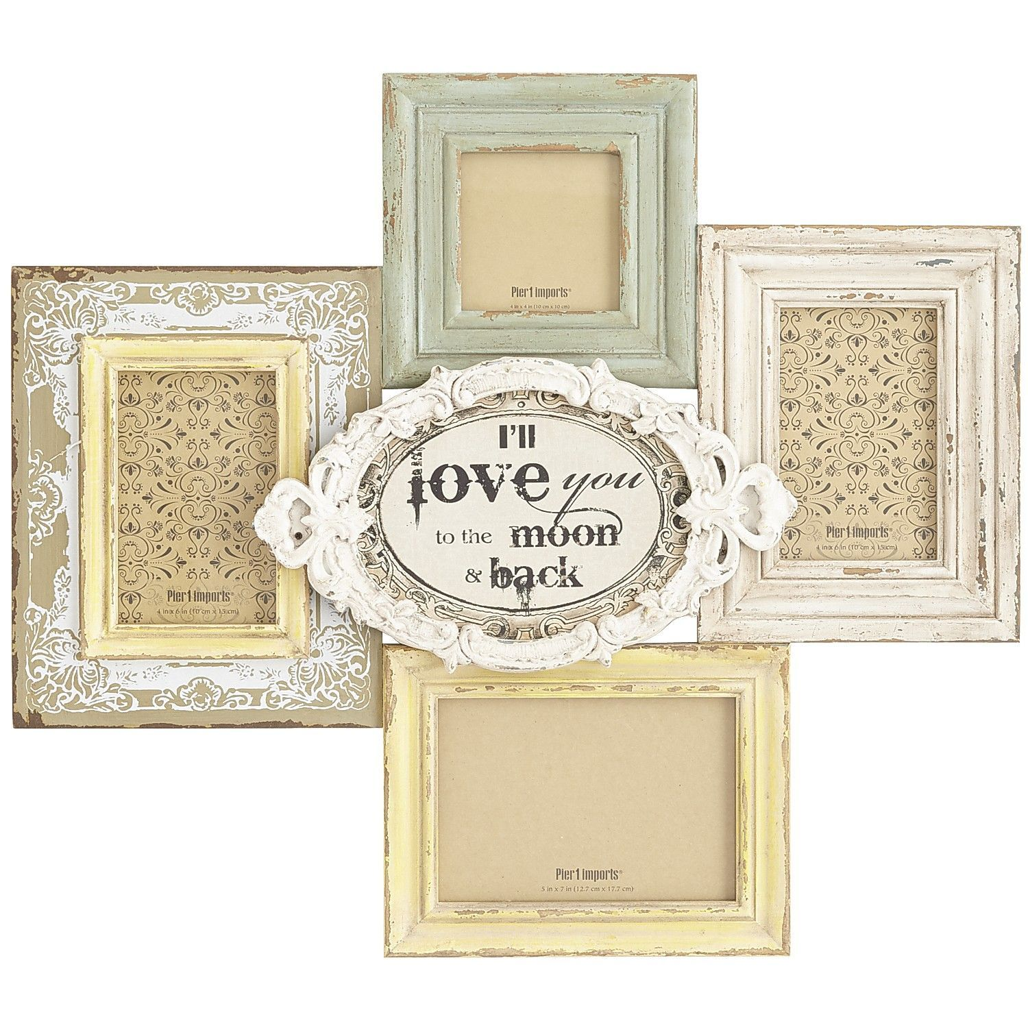 Love Collage Frame | Pier 1 Imports | Crafts - Picture Frames ...