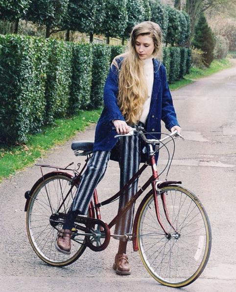 @oliviabynature wearing Wrap London - Imogen Jacket www.wraplondon.co.uk