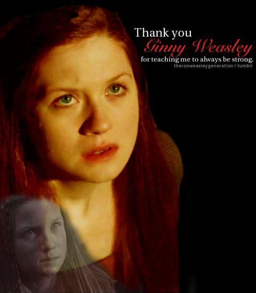 ginny my absolute favorite character ginny weasley harry