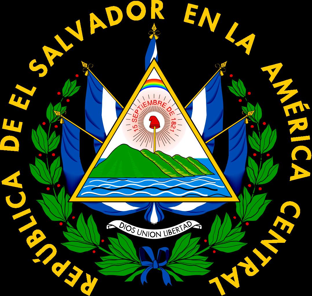 Nuestro Hermoso Escudo De El Salvador Bandera De El Salvador El Salvador Simbolos Patrios