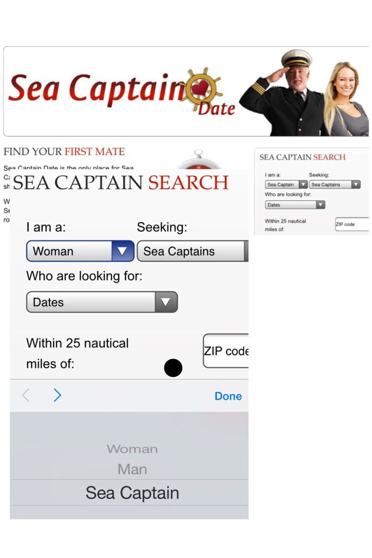 I Tried To Find Love On A Sea Captain Dating Site