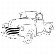 Old Truck Drawings Google Search Truck Coloring Pages Old Pickup Coloring Pages