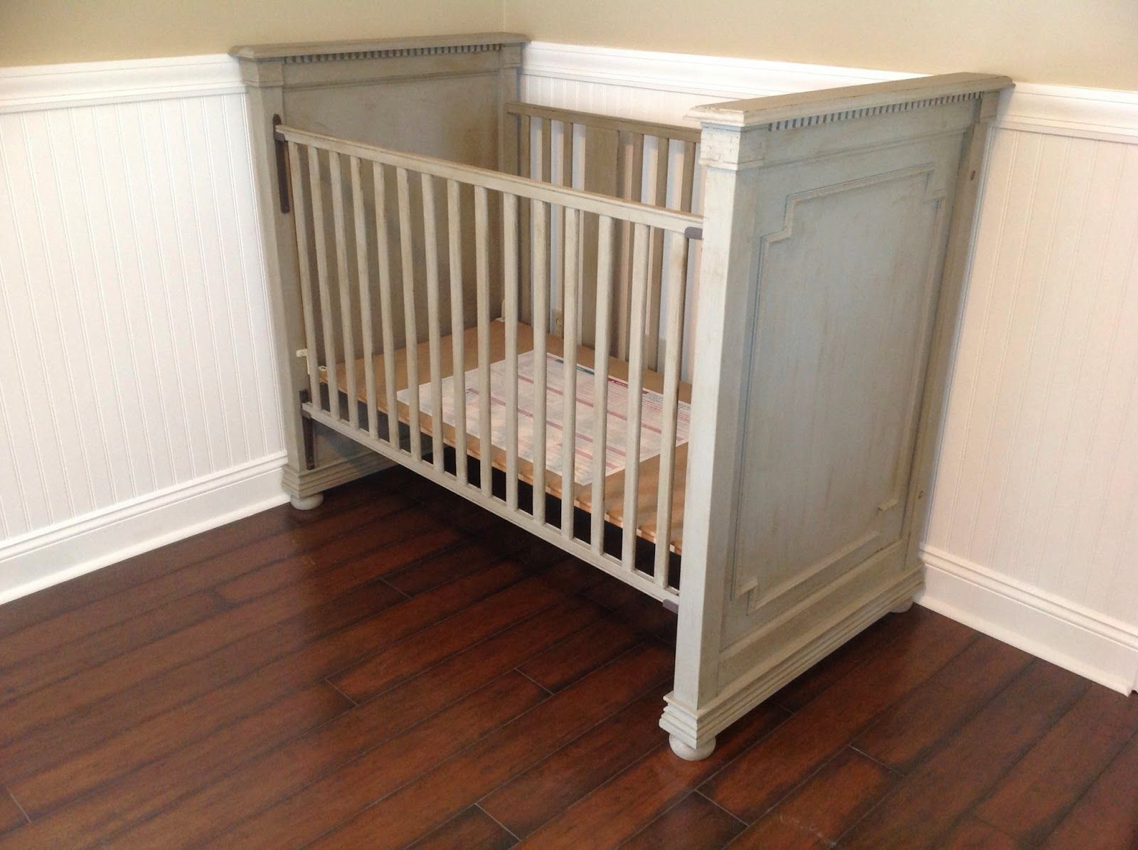 Jameson panel crib for sale - Along With Then Restoration Hardware Bookcase I D Been Admiring I Was Also Falling In Love With Their Jameson Crib But Again It Was More T