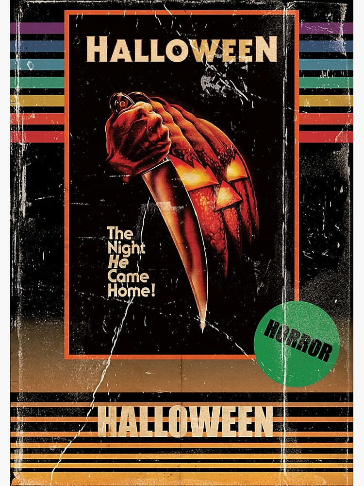 2020 Vhs Halloween Halloween 1978 VHS horror Movie Poster' Photographic Print by