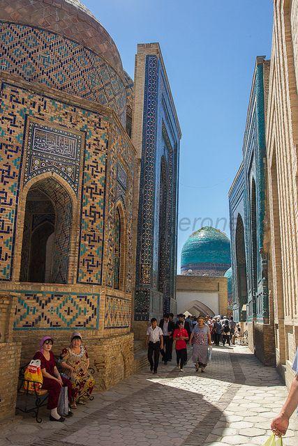 Shah-i-Zinda - Samarkand - Uzbekistan