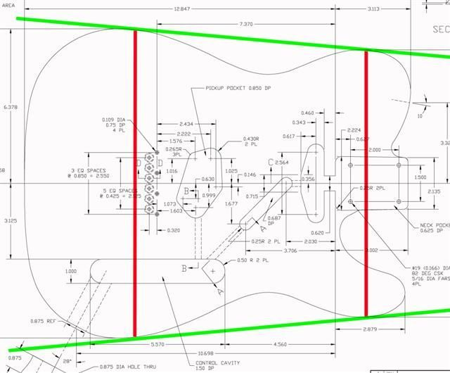 Blueprints Fender Strat