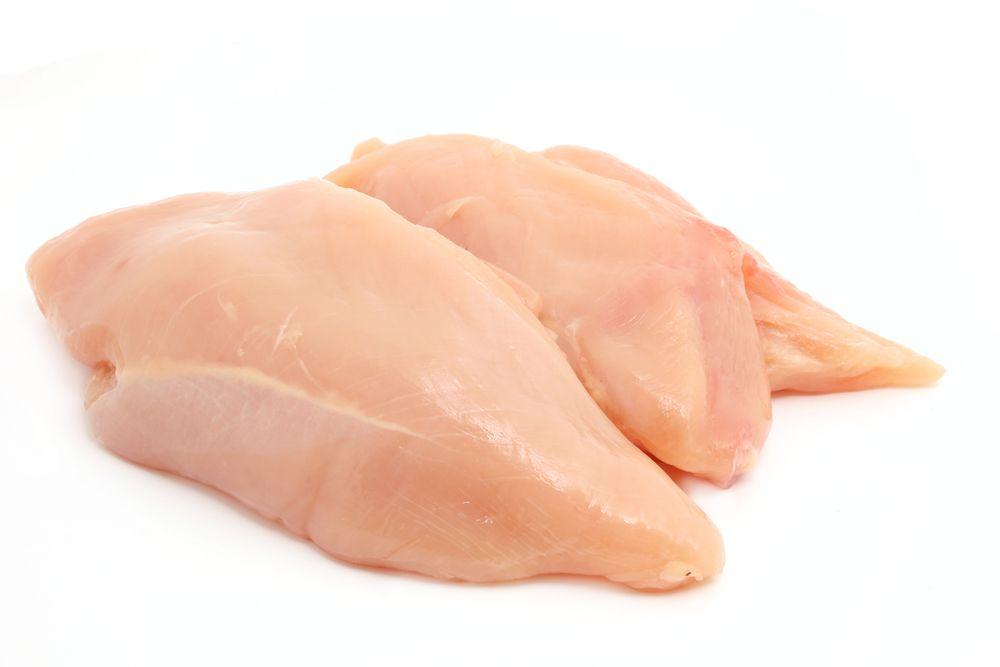 mager: Hühnerfleisch