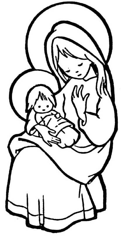 Dibujos Para Colorear De La Virgen Maria Y Jesus Dibujos Virgen Maria Y Jesus Dibujos Para Colorear