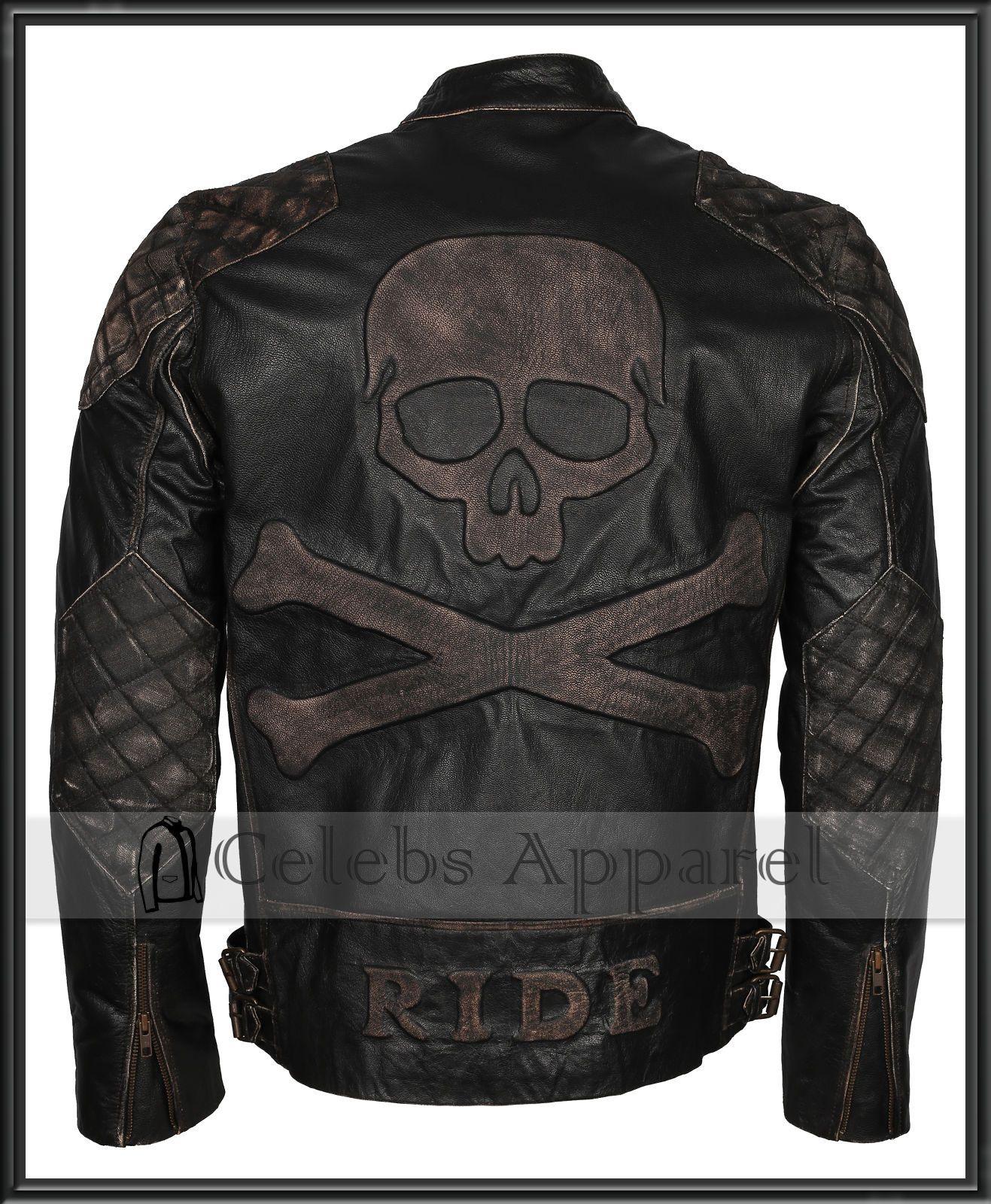 RIDE OR DIE BIKER SKULL BIKE COW MOTORCYCLE RIDER Mens Black Sweatshirt
