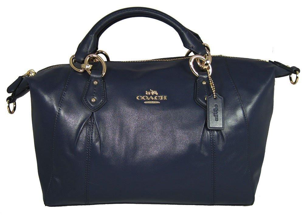 5c295cc646 Coach Colette Leather Satchel Shoulder Bag F33806