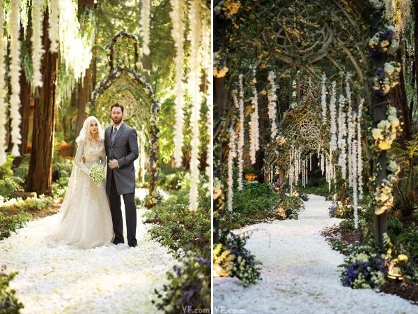 Enchanted Forest Style Wedding