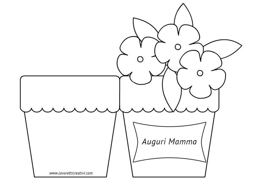 Открытка ваза с цветами из бумаги своими руками шаблоны, марта