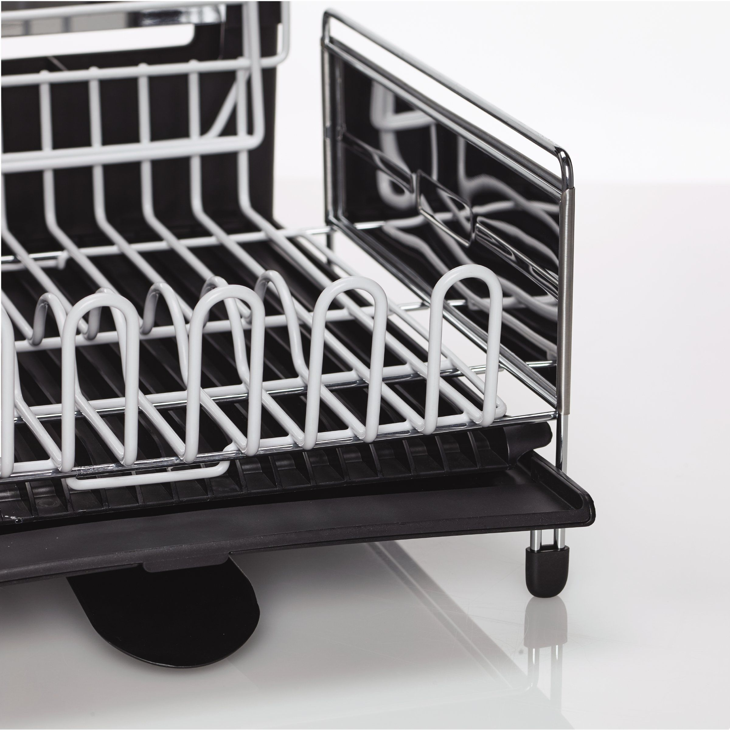Sabatier 5199813 Expandable Stainless Steel Dish Rack With