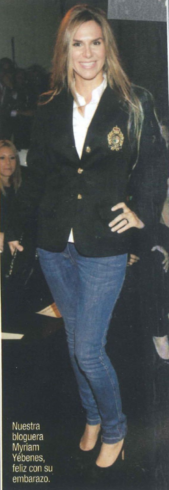 Myriam G.Yébenes en la revista Diez Minutos