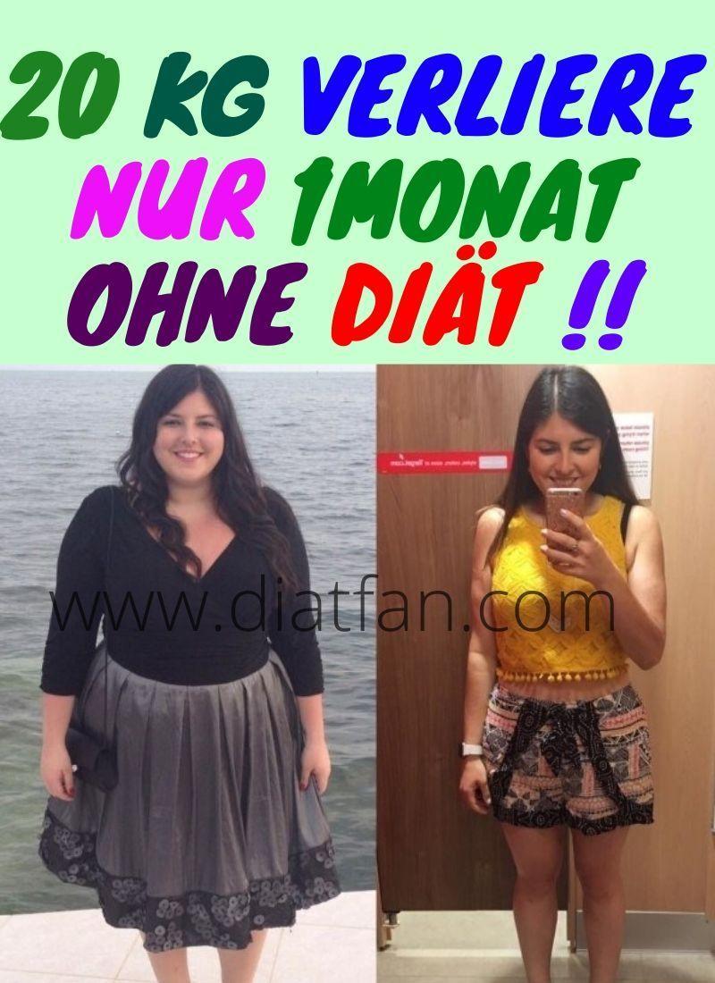 Wie man in 1 Monat ohne Diät Gewicht verliert
