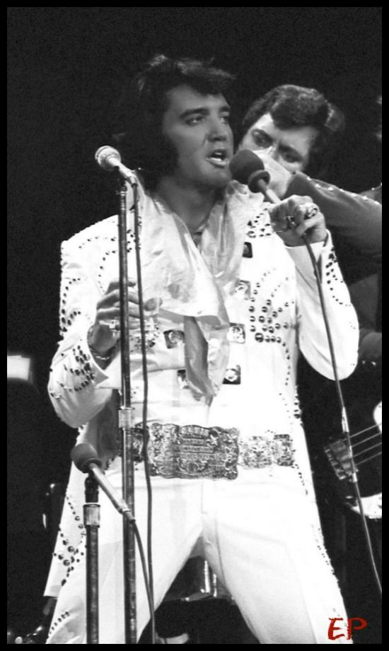 Elvis Live at Madison Square Garden, June 1972 with Charlie Hodge