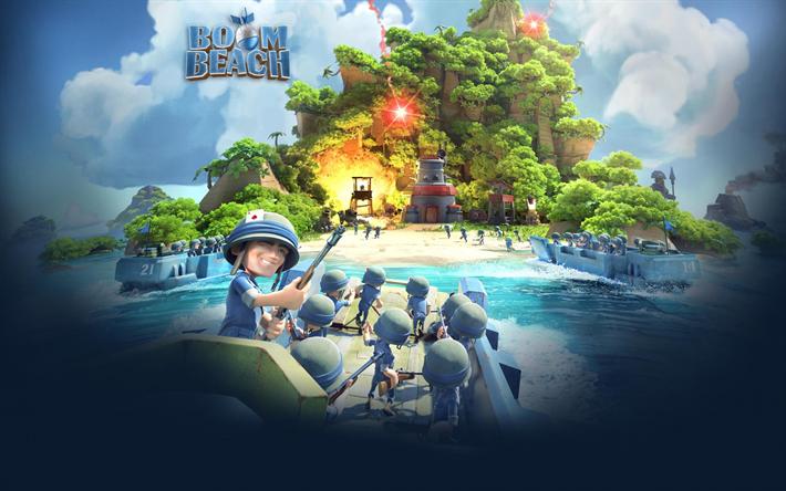 Descargar Fondos De Pantalla Boom Beach Supercelula Juegos Online