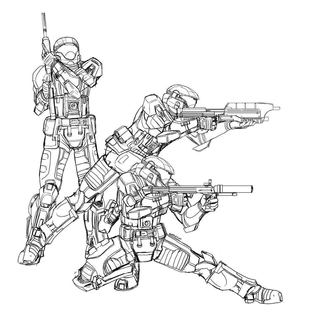Odst Progress By Pinkuh 1 050 1 068 Pixels