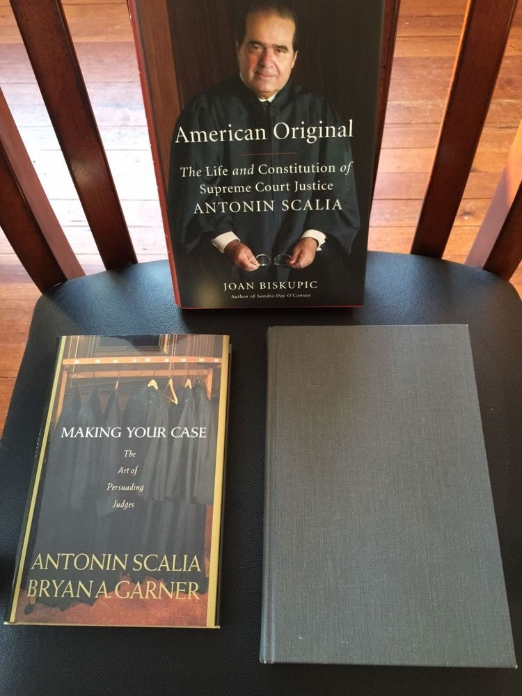 Antonin Scalia Two Books by and One About the Supreme