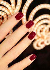 Rote Nägel Acryl   – Red Nails Acrylic – #Acryl #Acrylic #Nägel #Nails #Red #R…