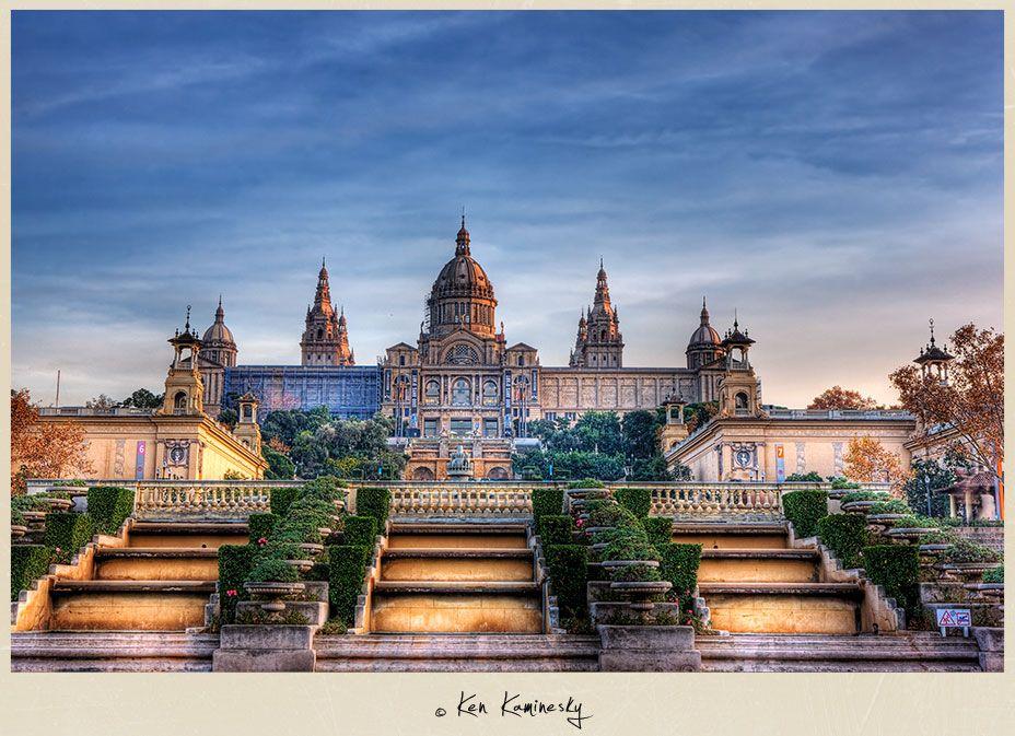 museu nacional d'art de catalunya barcelona spain