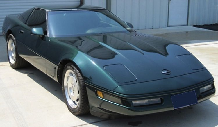 Polo Green 1996 Gm Corvette Paint Cross Reference 1996 Corvette Corvette Chevrolet Corvette C4