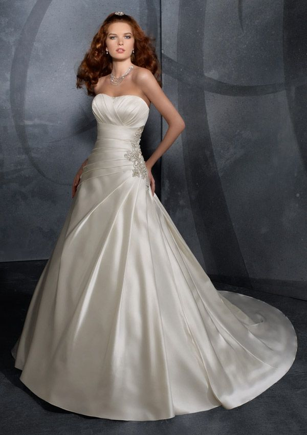 Classic A-line Ball Gown wedding dress - Size 28 - Look fabulous for ...