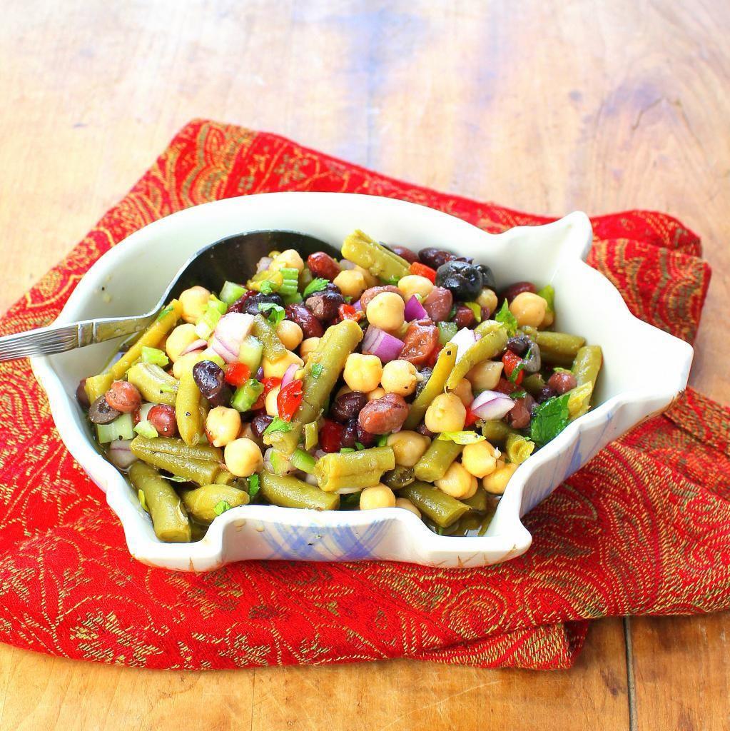 Colorful Bean Salad   Best pasta recipes, Salad side ...