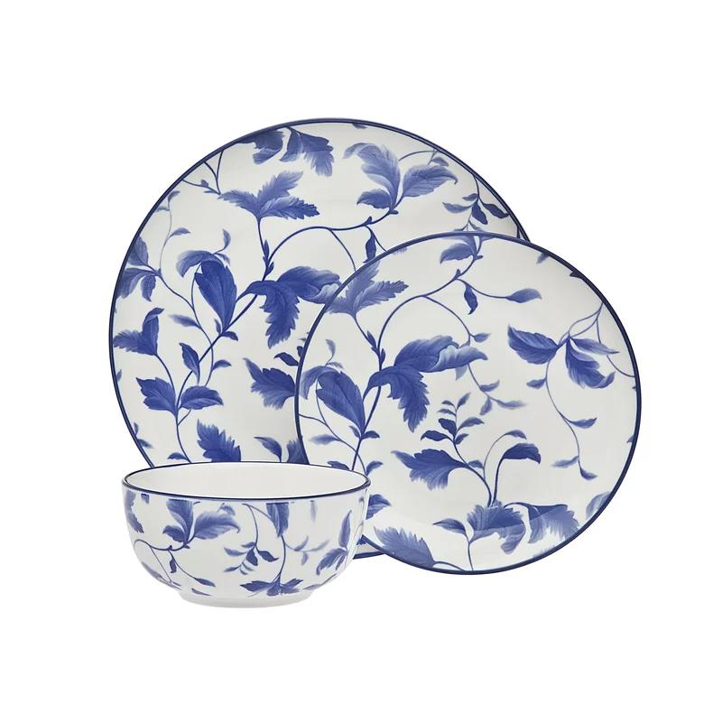 Arleigh 12 Piece Dinnerware Set Service For 4 In 2020 Dinnerware Set Dinnerware Stoneware Dinnerware Sets